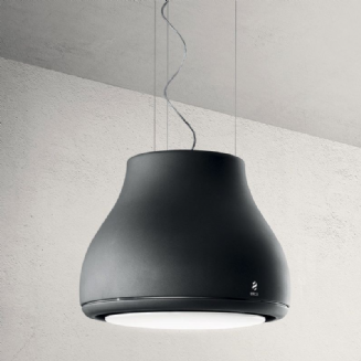 Elica Shining in Cast Iron ceiling hung extractor